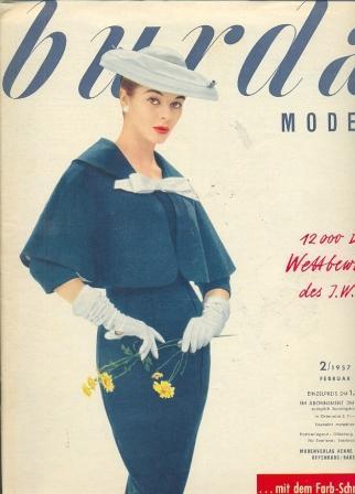 Журнал Burda Moden 1957 2