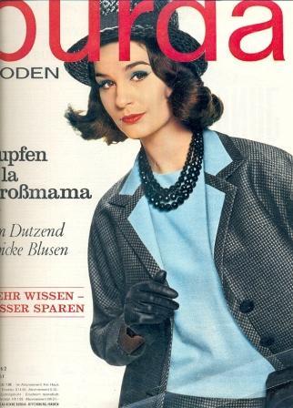 Журнал Burda Moden 1962 8