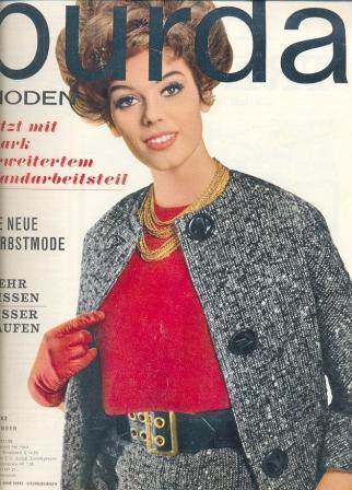 Журнал Burda Moden 1962 9