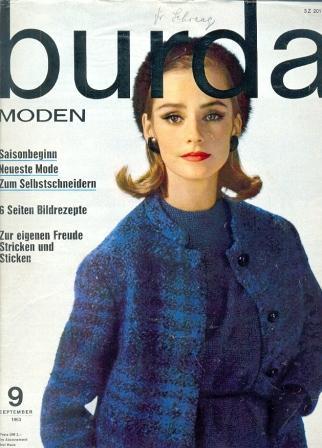 Журнал Burda Moden 1963 9