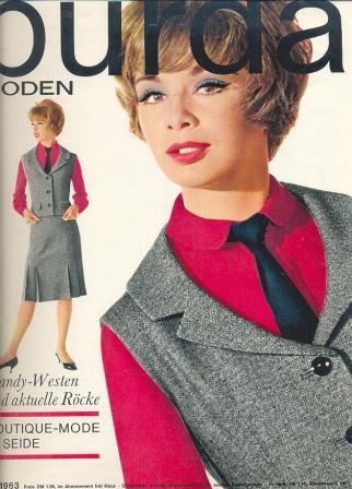 Журнал Burda Moden 1963 1