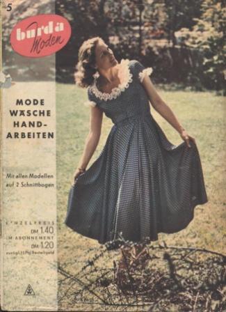 Журнал BURDA MODEN 1950 5