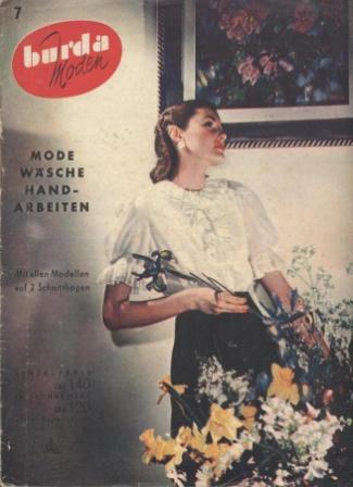 Журнал BURDA MODEN 1950 7