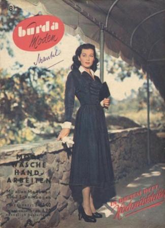Журнал BURDA MODEN 1950 8