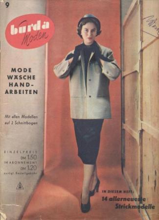Журнал BURDA MODEN 1950 9