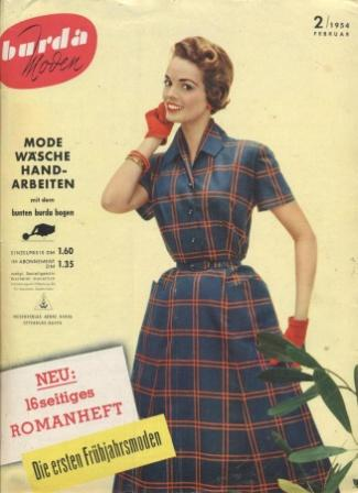 Журнал BURDA MODEN 1954 2