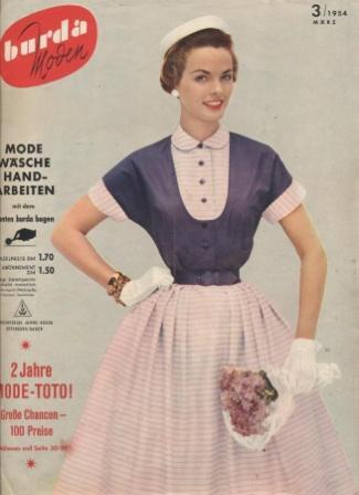 Журнал BURDA MODEN 1954 3