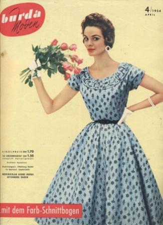 Журнал BURDA MODEN 1954 4