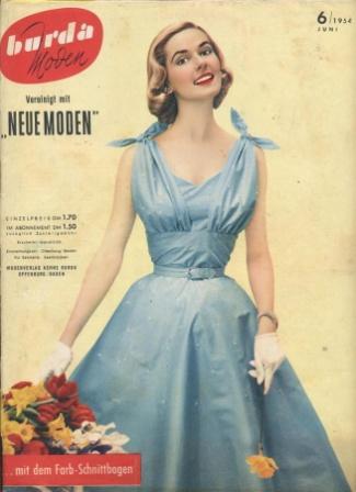 Журнал BURDA MODEN 1954 6