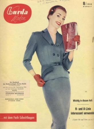 Журнал BURDA MODEN 1955 8