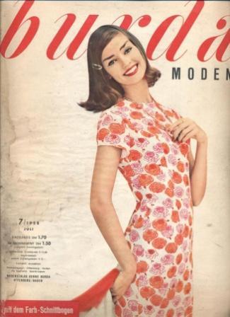 Журнал BURDA MODEN 1958 7