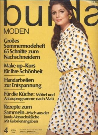 Журнал BURDA MODEN 1969 4