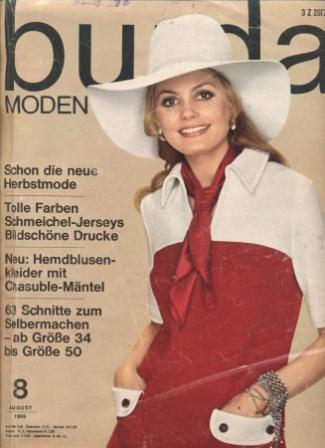 Журнал BURDA MODEN 1969 8