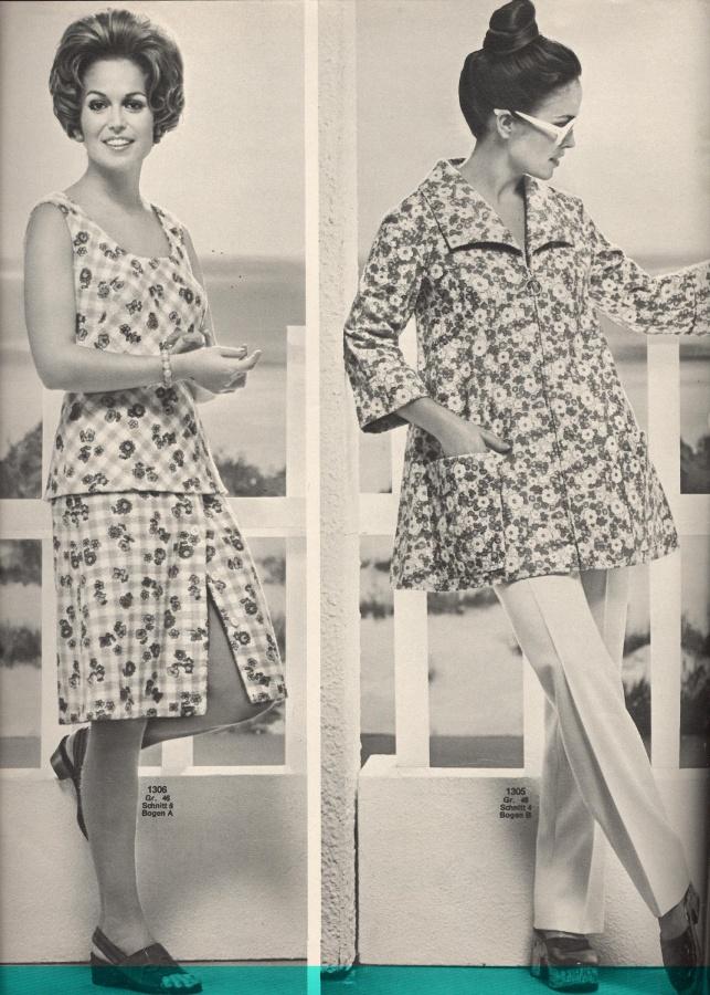 BURDA SPECIAL PLUS (БУРДА) Mode für Vollschlanke (мода для полных) 1972   247 SH 247 72   Библиотека   МОДНЫЕ СТРАНИЧКИ 9206d4819cb
