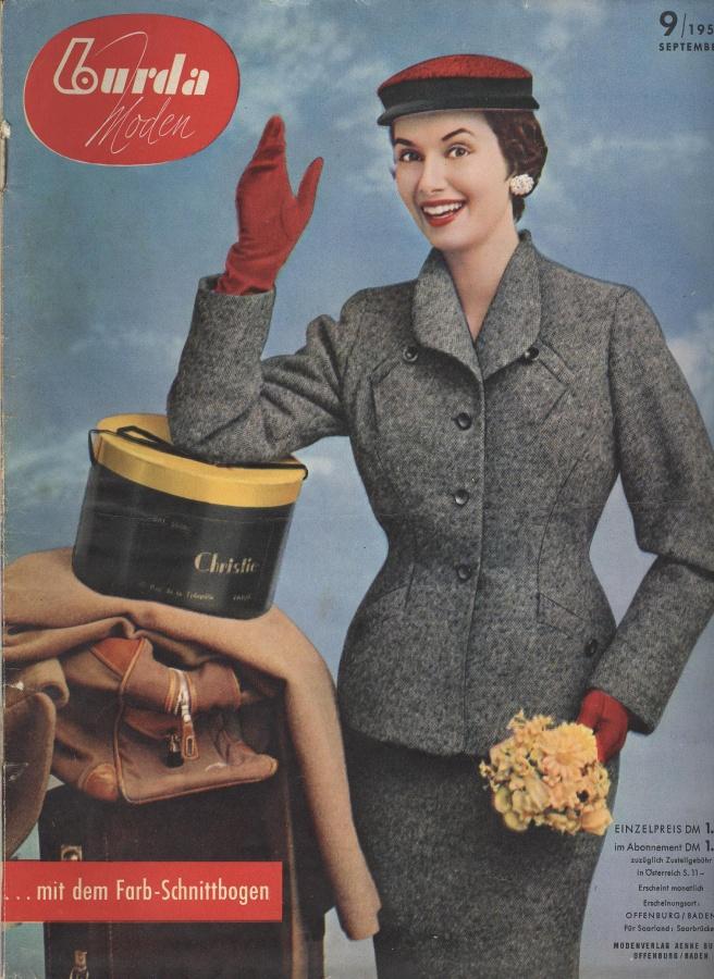 BURDA MODEN 1955 09 (сентябрь)   Библиотека   МОДНЫЕ СТРАНИЧКИ 0de51344c55