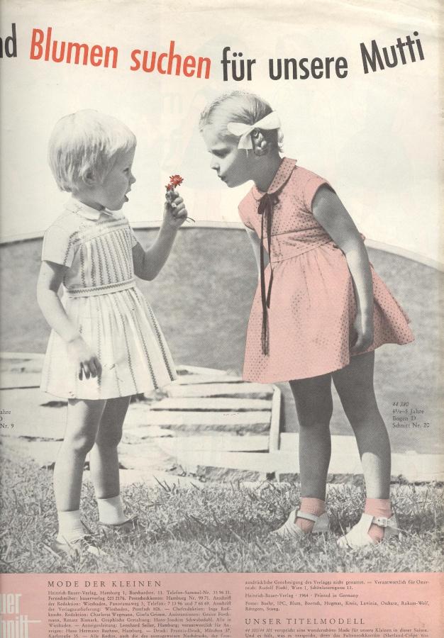 Neuer Schnitt Sonderheft Kindermode 3112 1964 3 журналы 1960 1969