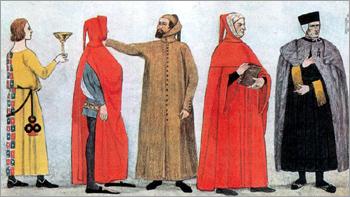 Итальянский костюм эпохи Раннего Возрождения