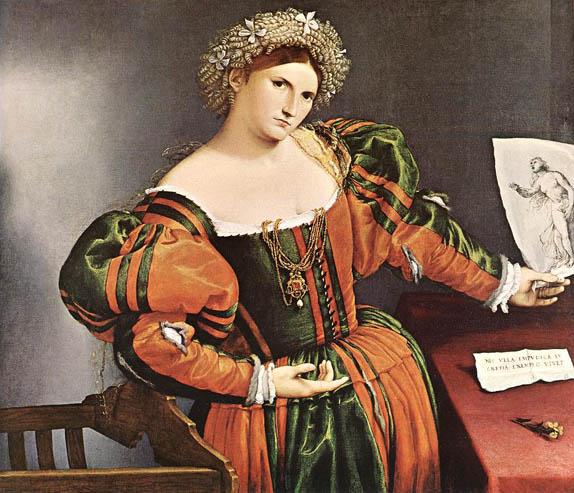 Лоренцо Лотто. Лукреция. Костюм эпохи высокого Возрождения Италия