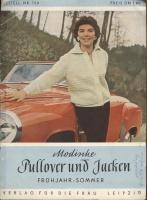 Modische Pullover und Jacken #769 1958