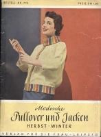 Modische Pullover und Jacken #770 1959