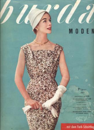 Журнал BURDA MODEN 1957 7