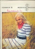 Modische Maschen (вязание) 1972 1