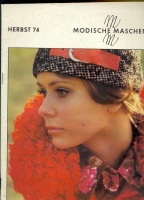 Modische Maschen (вязание) 1974 2
