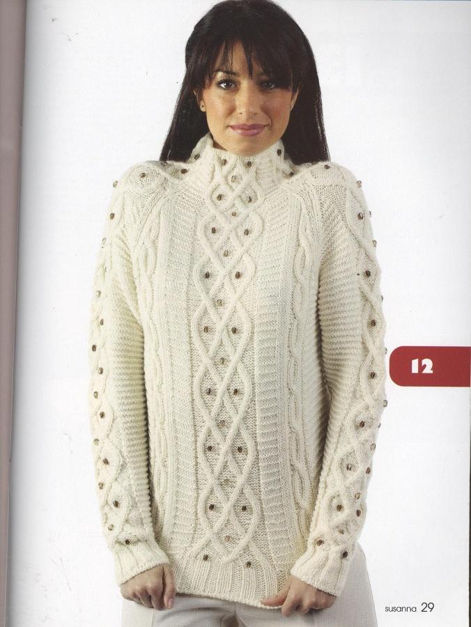 Вязание для женщин свитеров 27