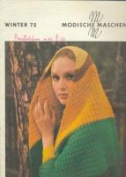 Modische Maschen (вязание) 1972 3