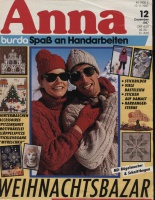 Журнал ANNA АННА (Журнал Энне Бурда) 1987 12
