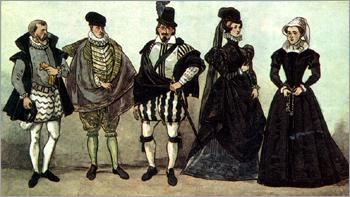 a1dde0df2e43 Французкий костюм эпохи Возрождения. Испанская мода при французском дворе
