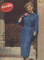 BURDA MODEN 1952 02 (февраль)