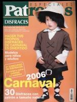 PATRONES especiales №34 DISFRACES 2006 (КАРНАВАЛЬНЫЕ КОСТЮМЫ)