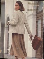 ч. Burda 1991 10 с инструкциями, выкройками, без обложки