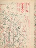 ч. BURDA 1990 04 A-B лист выкроек
