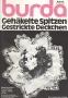 BURDA Gehakelte Spitzen Gestrickte Deckchen 1974 Bestellnummer 3