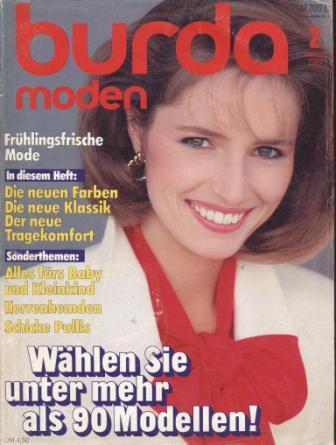 Журнал BURDA MODEN 1984 2