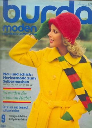 Журнал BURDA MODEN 1972 9