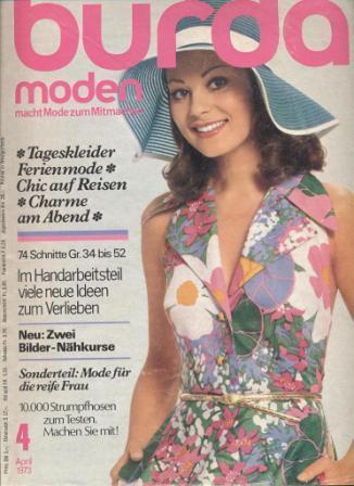 Журнал BURDA MODEN 1973 4