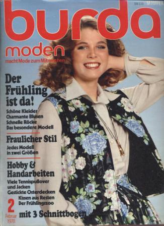 Журнал BURDA MODEN 1978 2