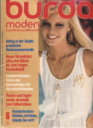 Журнал BURDA MODEN 1977 6