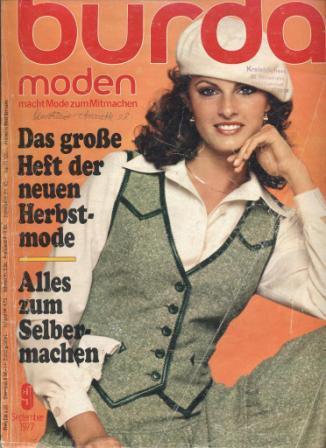 Журнал BURDA MODEN 1977 9