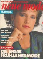 NEUE MODE 1986 01