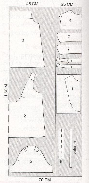 Блузка на резинке сверху выкройка. . - Каталог блуз, кофт и шорт 2015 года