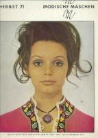 Modische Maschen (вязание) 1971 2