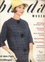 BURDA MODEN 1961 01 (январь)