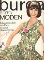 BURDA MODEN 1964 6