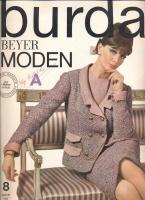 BURDA MODEN 1964 08 (август)