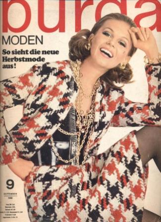 BURDA MODEN 1968 09 (сентябрь)