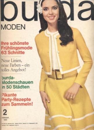 BURDA MODEN 1969 02 (февраль)